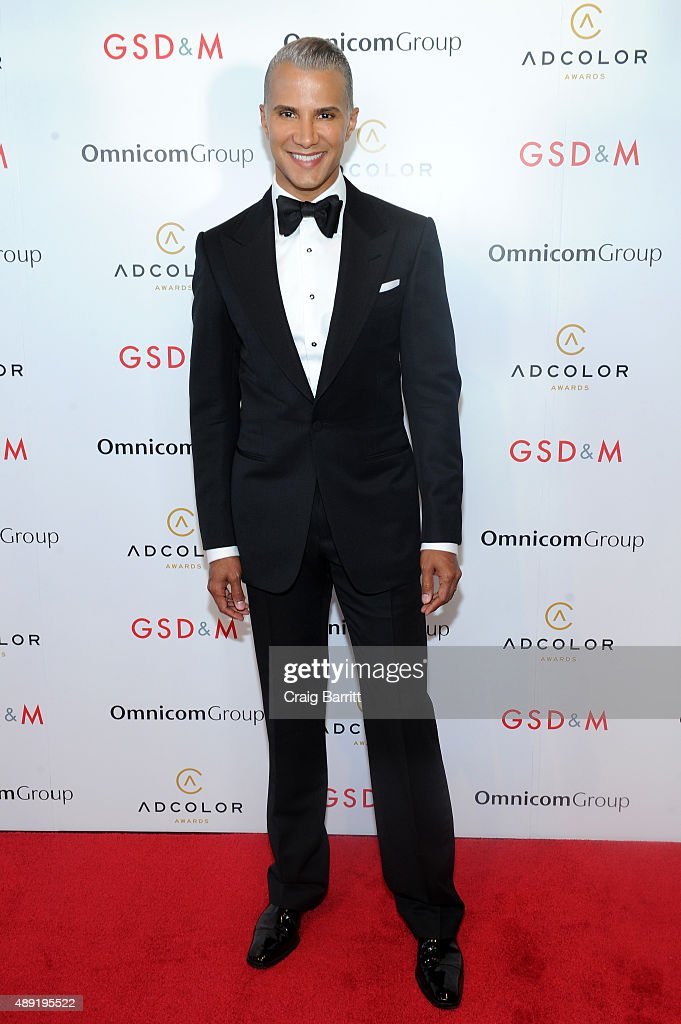 TV Personality, Jay Manuel, attends the 9th Annual ADCOLOR Awards at Pier 60 on September 19, 2015 in New York City.