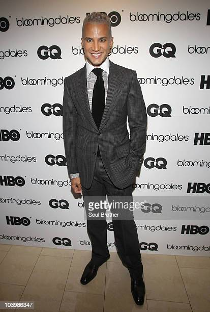TV personality Jay Manuel attends the HBO 'Boardwalk Empire' series premiere at Bloomingdale's on September 10 2010 in New York City