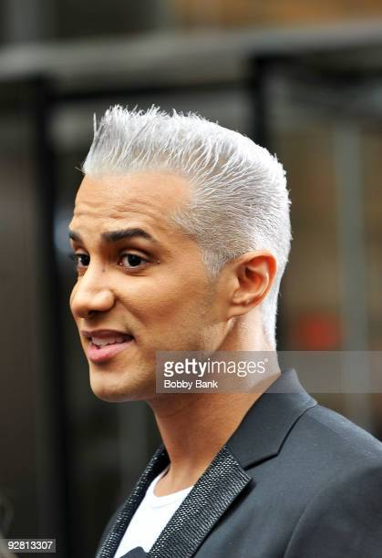 TV personality Jay Manuel sighting on the streets of Manhattan on November 5 2009 in New York City