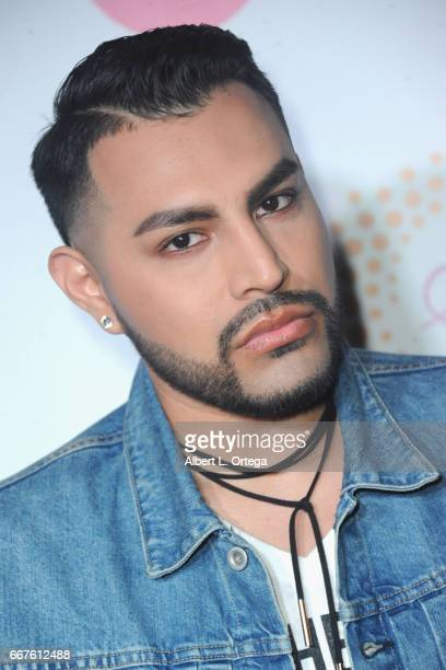 Personality JC Camarillo of 'Growing Up Hip Hop' at Sai Suman's Official Hollywood Runway Fashion Show held at Sofitel Hotel on April 11, 2017 in Los...