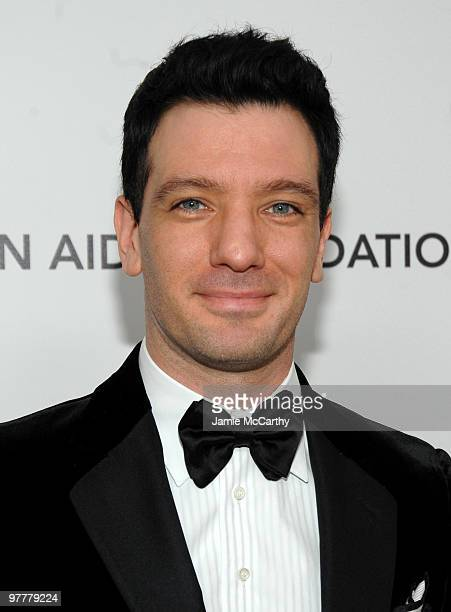 TV personality JC Chasez arrives at the 18th Annual Elton John AIDS Foundation Oscar party held at Pacific Design Center on March 7 2010 in West...