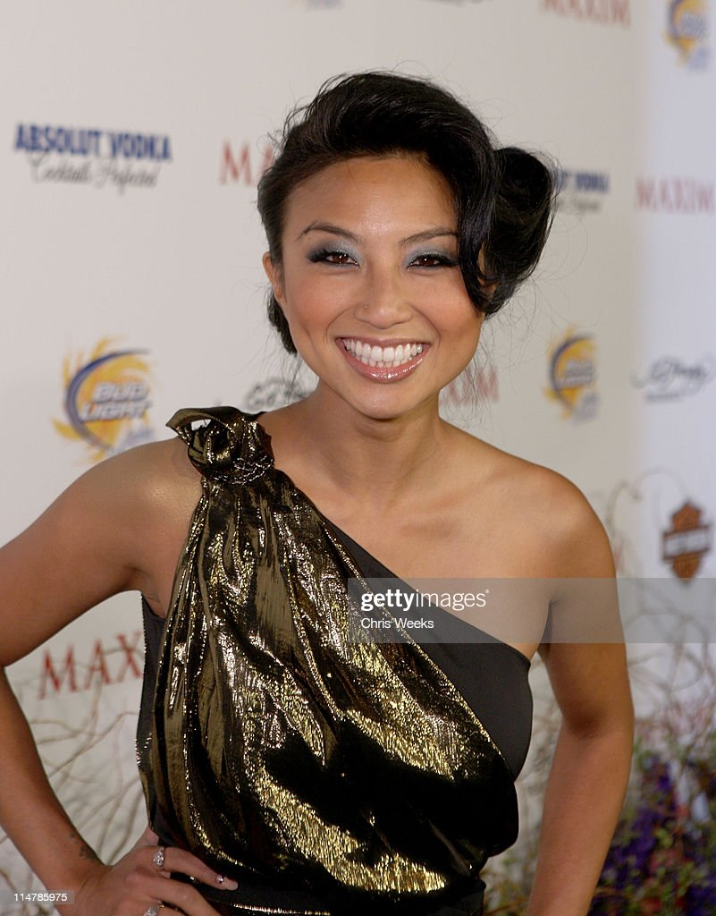 TV Personality Jeannie Mai arrives at the 11th annual Maxim Hot 100 Party with Harley-Davidson, ABSOLUT VODKA, Ed Hardy Fragrances, and ROGAINE held at Paramount Studios on May 19, 2010 in Los Angeles, California.