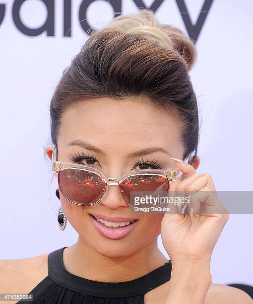 TV personality Jeannie Mai arrives at the 2015 Billboard Music Awards at MGM Garden Arena on May 17 2015 in Las Vegas Nevada