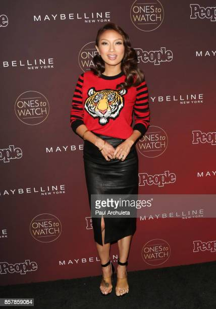 Personality Jeannie Mai attends People's 'Ones To Watch' party at NeueHouse Hollywood on October 4 2017 in Los Angeles California