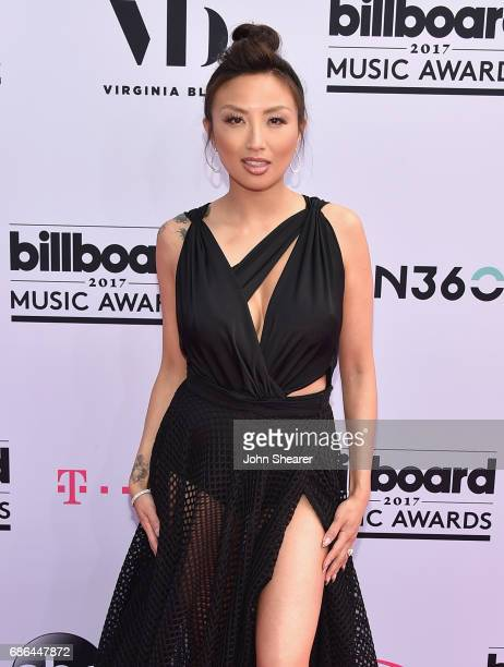 TV personality Jeannie Mai attends the 2017 Billboard Music Awards at TMobile Arena on May 21 2017 in Las Vegas Nevada