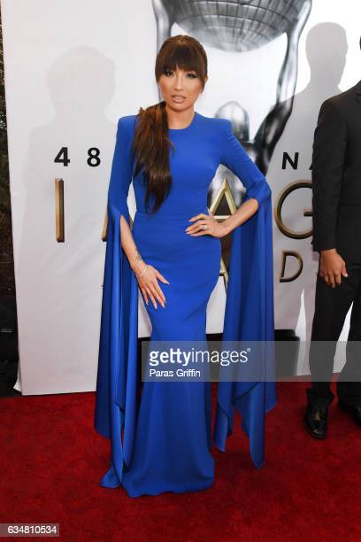 TV personality Jeannie Mai attends the 48th NAACP Image Awards at Pasadena Civic Auditorium on February 11 2017 in Pasadena California