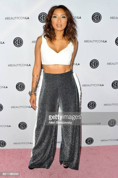 Personality Jeannie Mai attends the 5th Annual Beautycon Festival Los Angeles at Los Angeles Convention Center on August 13 2017 in Los Angeles...