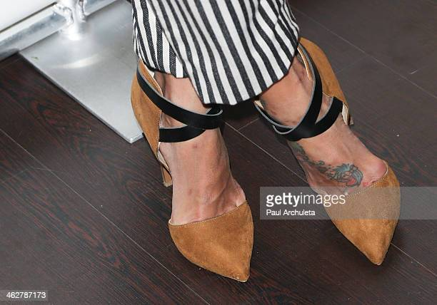 Personality Jeannie Mai attends the Council Of Fashion Designers Of America's 4th annual design series for Vogue eyewear on January 14 2014 in Los...