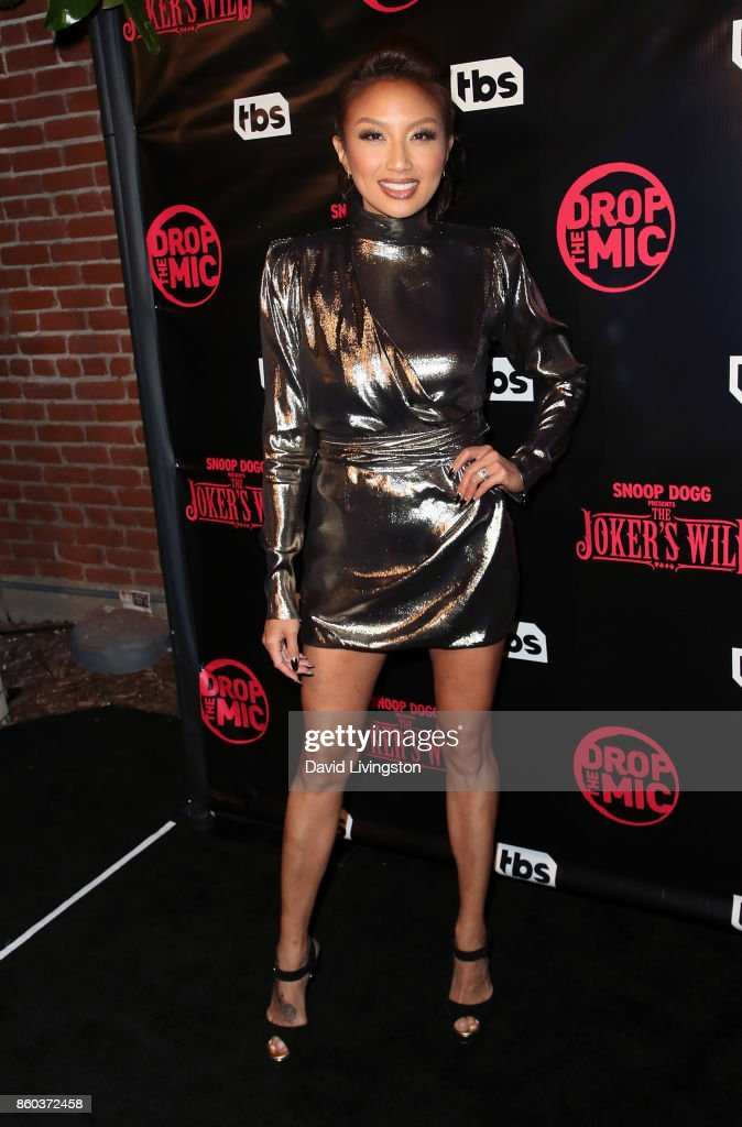 TV personality Jeannie Mai attends the premiere for TBS's 'Drop The Mic' and 'The Joker's Wild' at The Highlight Room on October 11, 2017 in Los Angeles, California.