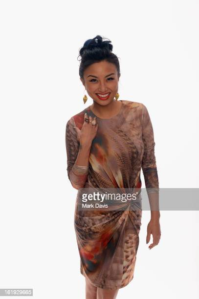 TV personality Jeannie Mai poses for a portrait in the TV Guide Portrait Studio at the 3rd Annual Streamy Awards at Hollywood Palladium on February...