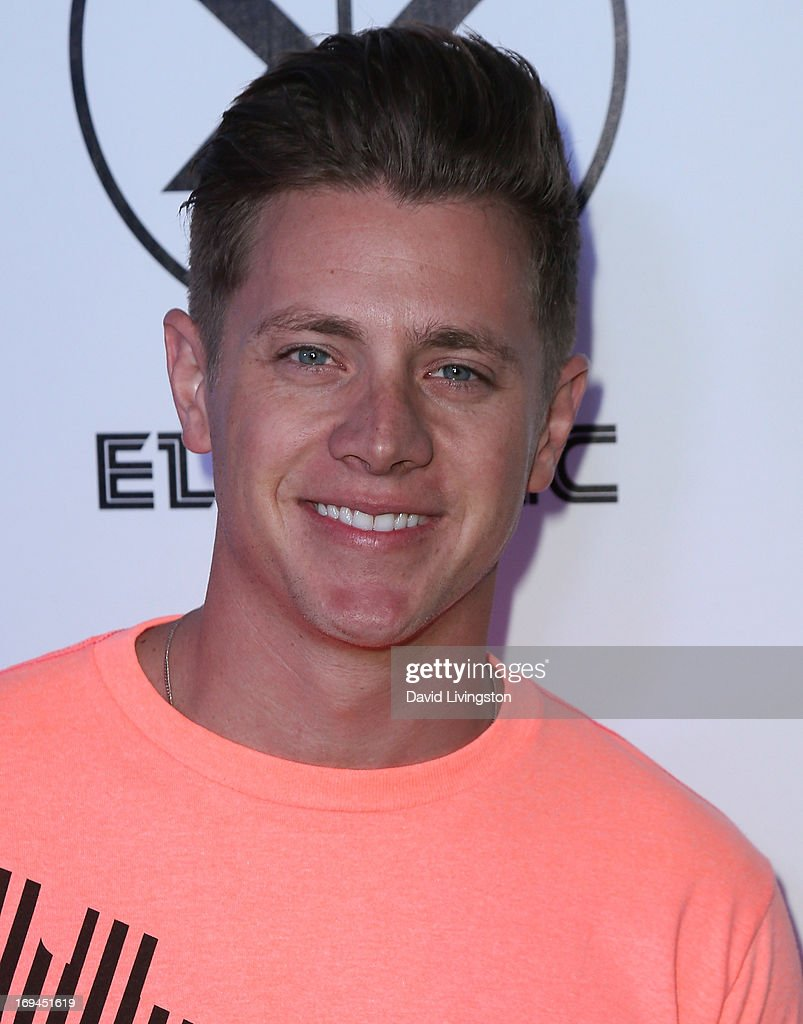 TV personality Jef Holm attends Electric Run LA at The Home Depot Center on May 24, 2013 in Carson, California.