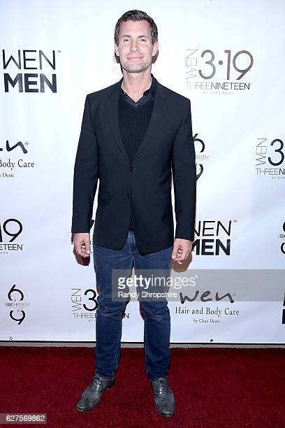 TV personality Jeff Lewis arrives to Chaz Dean WEN winter party benefiting Love is Louder on December 3 2016 in Los Angeles California