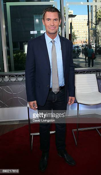 TV personality Jeff Lewis visits Hollywood Today Live at W Hollywood on August 16 2016 in Hollywood California