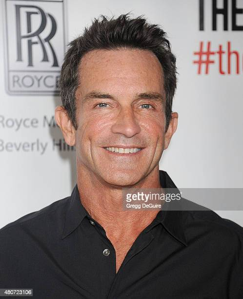 TV personality Jeff Probst arrives at the premiere of ESX Productions' 'The Wrong Side Of Right' at TCL Chinese Theatre on July 14 2015 in Hollywood...