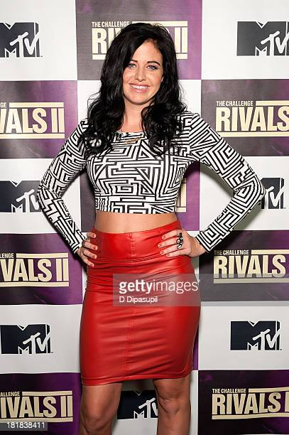TV personality Jemmye Carroll attends MTV's The Challenge Rivals II Final Episode and Reunion Party at Chelsea Studio on September 25 2013 in New...
