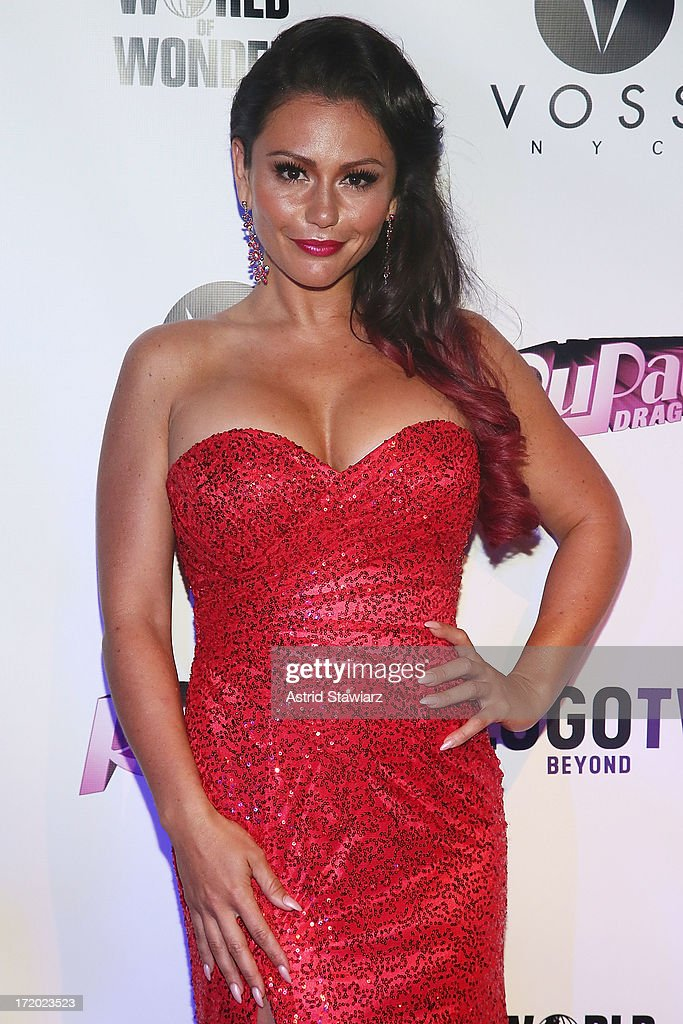 TV personality Jenni 'Jwoww' Farley attends Logo TV's Official Pride NYC 2013 Event at Highline Ballroom on June 30, 2013 in New York City.