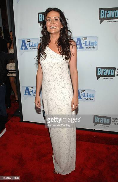 TV personality Jenni Pulos attends Bravo's 1st AList Awards at the Hammerstein Ballroom on June 4 2008 in New York City