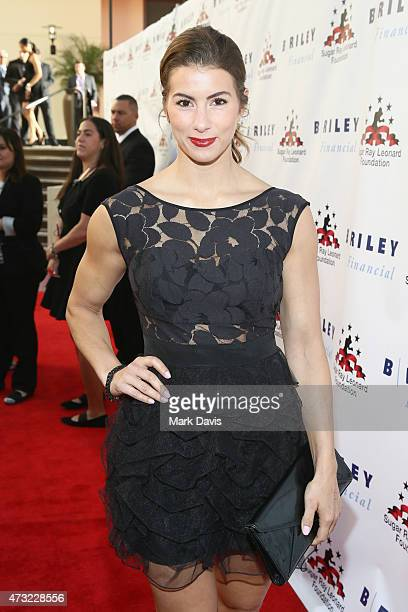 TV personality Jennifer Widerstrom attend B Riley Co And Sugar Ray Leonard Foundation's 6th Annual Big Fighters Big Cause Charity Boxing Night at The...