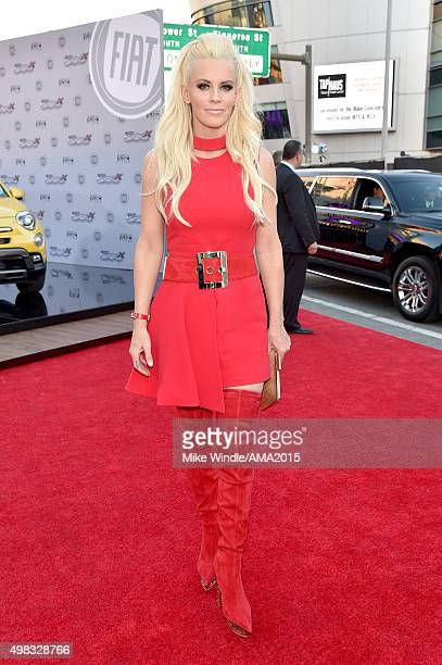 TV personality Jenny McCarthy attends the 2015 American Music Awards at Microsoft Theater on November 22 2015 in Los Angeles California