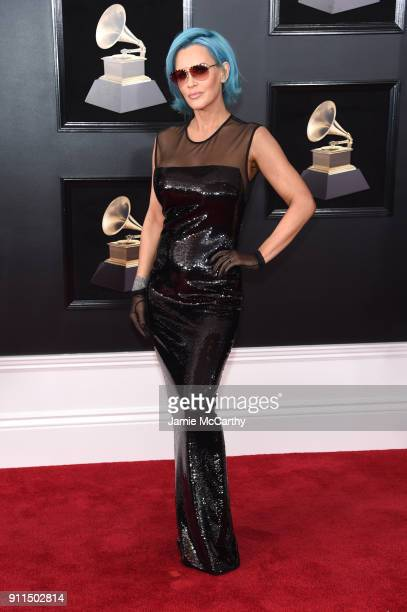 TV personality Jenny McCarthy attends the 60th Annual GRAMMY Awards at Madison Square Garden on January 28 2018 in New York City