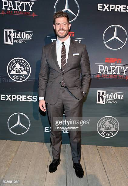TV personality Jesse Palmer attends ESPN The Party on February 5 2016 in San Francisco California