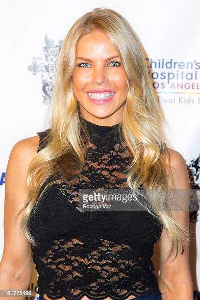 TV personality Jessica Canseco attends The Abbey's 8th annual Christmas In September Event benefiting The Children's Hospital Los Angeles at The...