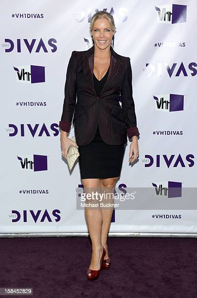TV personality Jessica Canseco attends VH1 Divas 2012 at The Shrine Auditorium on December 16 2012 in Los Angeles California