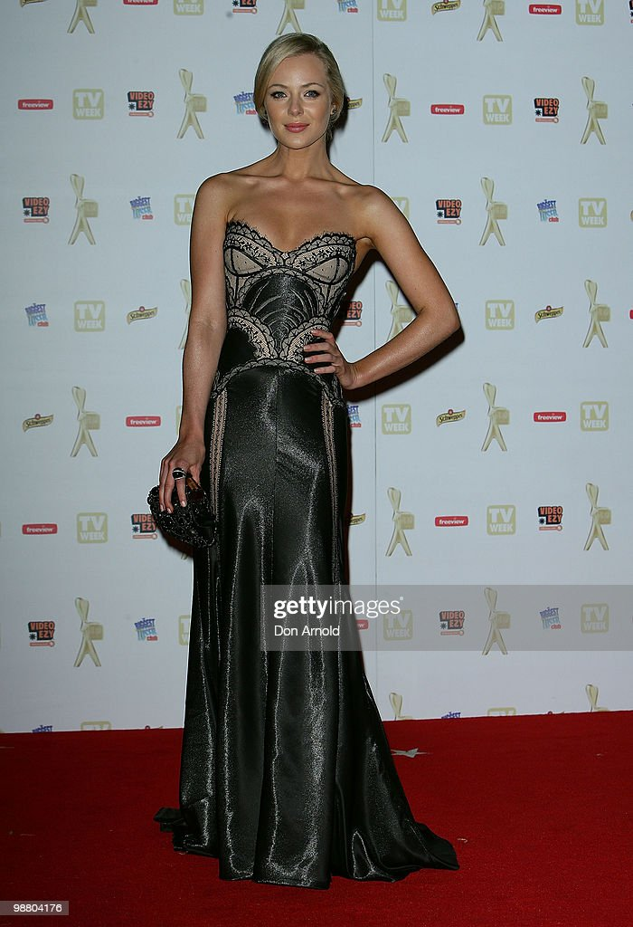 TV personality Jessica Marais arrives at the 52nd TV Week Logie Awards at Crown Casino on May 2, 2010 in Melbourne, Australia.