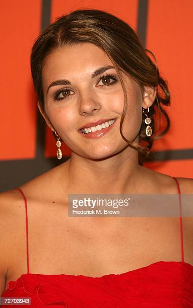 TV personality Jessica Rose arrives to the VH1 Big in '06 Awards held at Sony Studios on December 2 2006 in Culver City California