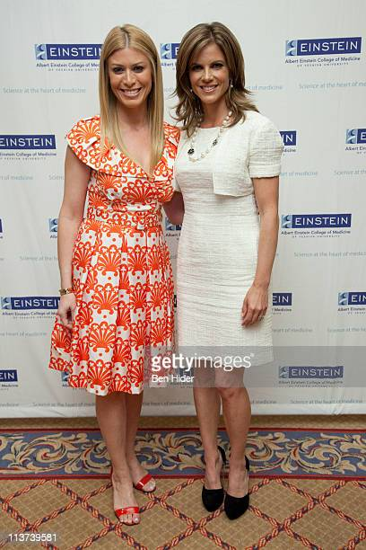Personality Jill Martin and Television Journalist Natalie Morales attend the 57th Annual Spirit of Achievement Luncheon at The Plaza Hotel on May 5...