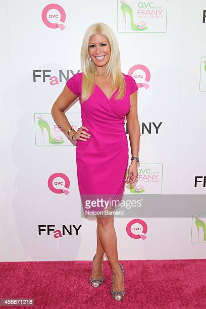 TV personality Jill Martin attends QVC presents FFANY Shoes on Sale at Waldorf Astoria Hotel on October 8 2014 in New York City