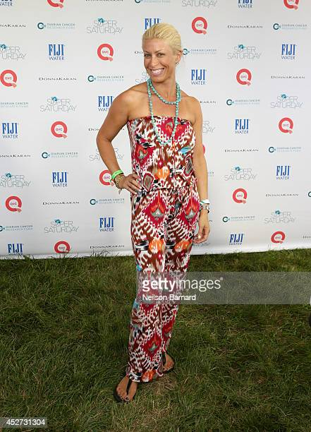 TV personality Jill Martin attends QVC Presents Super Saturday LIVE on July 26 2014 in Water Mill City