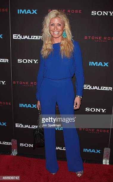 Personality Jill Martin attends The Equalizer New York Screening at AMC Lincoln Square Theater on September 22 2014 in New York City