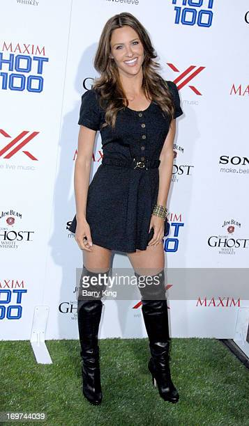 Personality Jill Wagner arrives at the Maxim 2013 Hot 100 Party held at Create on May 15, 2013 in Hollywood, California.