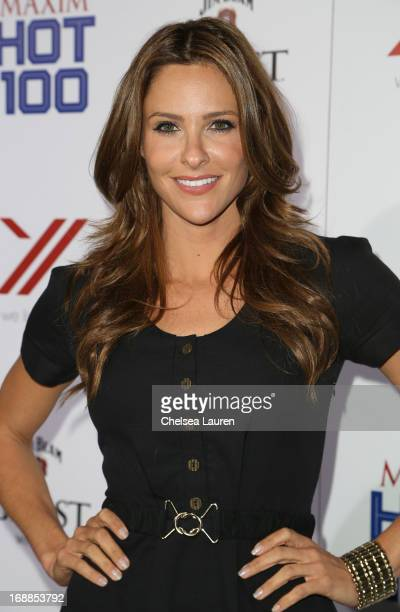 TV personality Jill Wagner arrives for Maxim's Hot 100 Celebration at Create Nightclub on May 15 2013 in Hollywood California