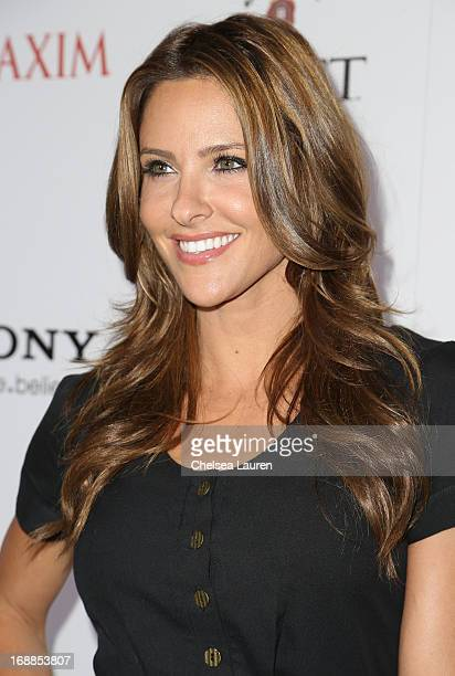 Personality Jill Wagner arrives for Maxim's Hot 100 Celebration at Create Nightclub on May 15, 2013 in Hollywood, California.
