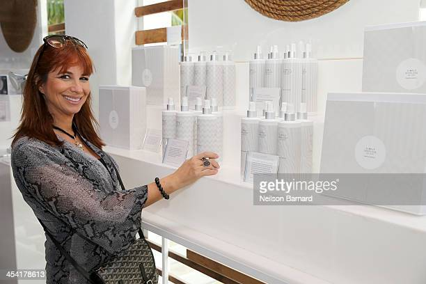 Personality Jill Zarin attends AD Oasis at James Royal Palm Hotel on December 7 2013 in Miami Beach Florida