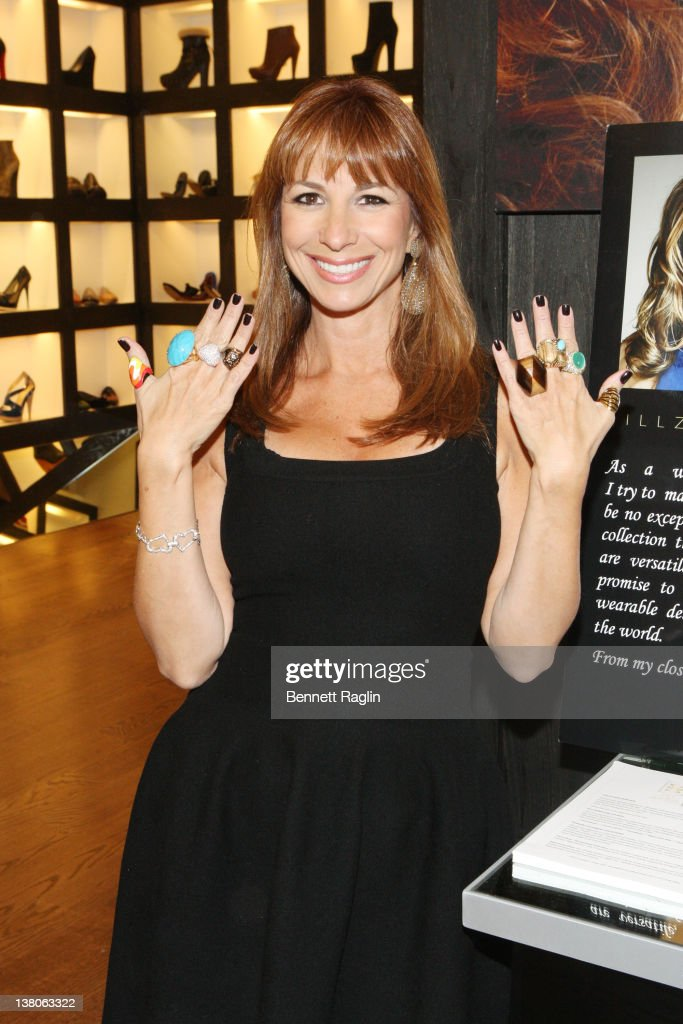 TV personality Jill Zarin attends the ModaListas & W Shop Spring/Summer 2012 fashion show at Limelight Marketplace on February 1, 2012 in New York City.