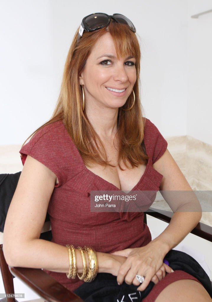 **EXCLUSIVE** TV personality Jill Zarin attends the Victoria's Secret Fashion Week Suite at Bryant Park Hotel on September 16, 2009 in New York City.