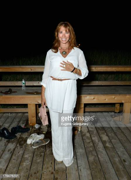 Personality Jill Zarin attends Women's Health Hamptons Party Under the Stars for RUN10 FEED10 at Bridgehampton Tennis and Surf Club on August 3 2013...