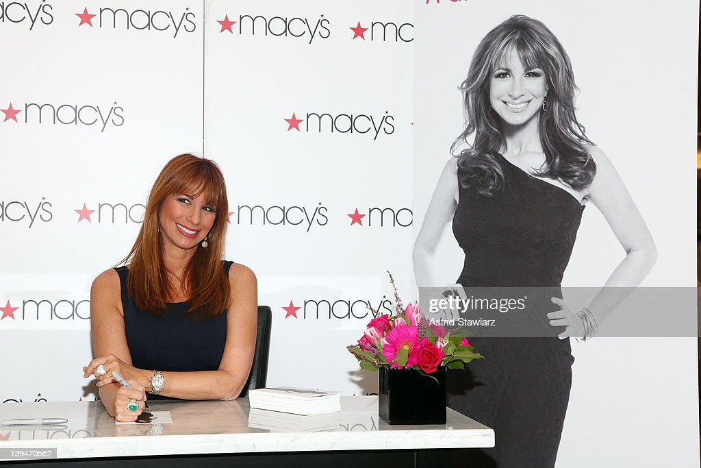 ca987b41ce TV personality Jill Zarin promotes her shapewear line Skweez Couture ...