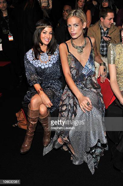 TV personality Jillian Harris and stylist Alexa Winner attends the Vivienne Tam Fall 2011 fashion show during MercedesBenz Fashion Week at The...