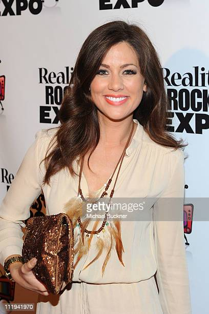 TV personality Jillian Harris attends the Reality Rocks Expo Fan Awards at the Los Angeles Convention Center on April 9 2011 in Los Angeles California