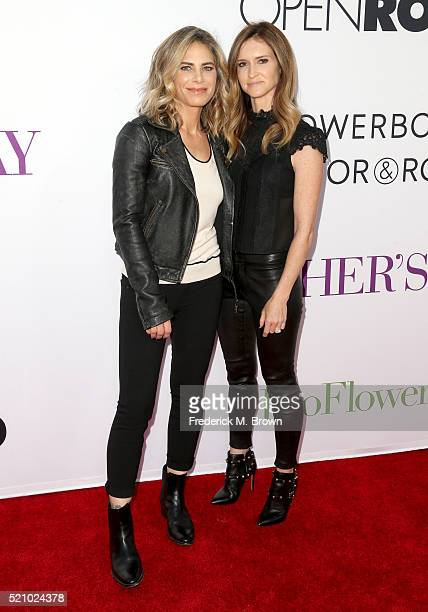 TV personality Jillian Michaels and talent manager Heidi Rhoades attend Open Roads World Premiere of 'Mother's Day' at TCL Chinese Theatre IMAX on...