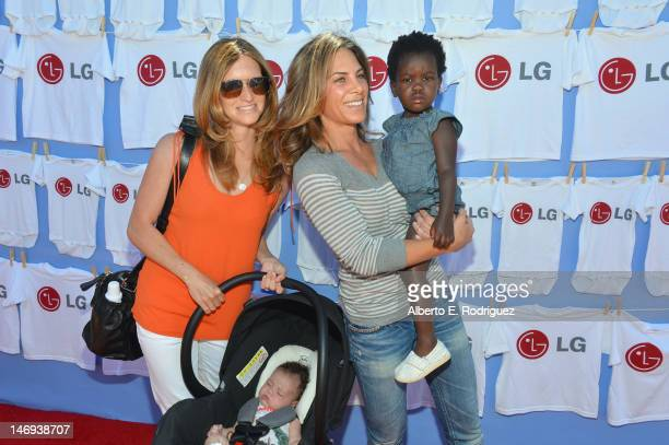 Personality Jillian Michaels Heidi Rhoades and daughter Lukensia attend '20 Magic Minutes A Family Celebration' To Launch The New MegaCapacity...