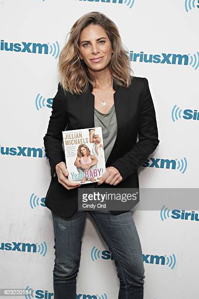 TV personality Jillian Michaels visits the SiriusXM Studios on November 14 2016 in New York City