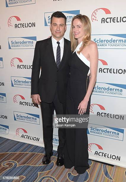 TV personality Jimmy Kimmel and wife Molly McNearney attend the Cool Comedy Hot Cuisine benefit at the Beverly Wilshire Four Seasons Hotel on June 5...
