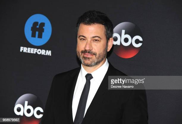 Personality Jimmy Kimmel attends the 2018 Disney ABC Freeform Upfront on May 15 2018 in New York City