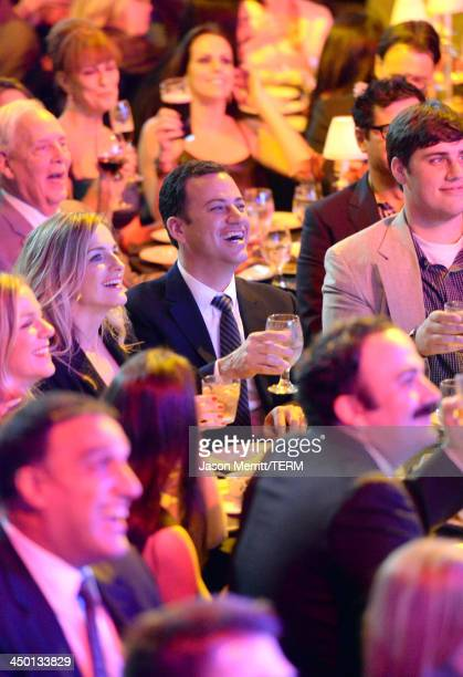Personality Jimmy Kimmel in the audience during Variety's 4th Annual Power of Comedy presented by Xbox One benefiting the Noreen Fraser Foundation at...