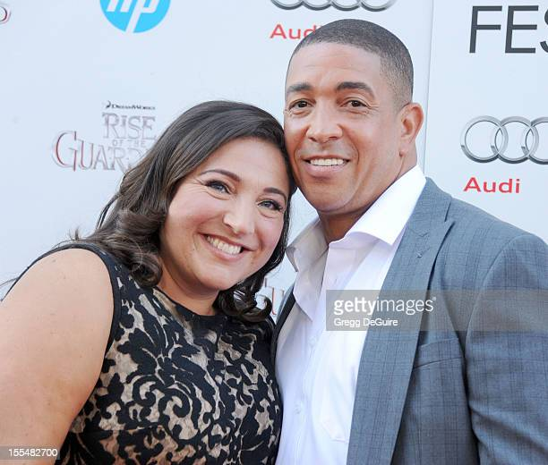 TV personality Jo Frost and Darrin Jackson arrive at the gala screening of Rise Of The Guardians during the 2012 AFI FEST at Grauman's Chinese...